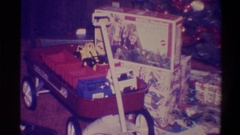 1973: santa has stopped here! NEW YORK Stock Footage