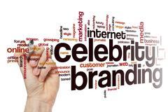Celebrity branding word cloud concept Kuvituskuvat