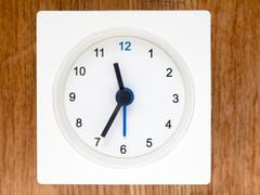 The second series of the sequence of time, 93/96 Stock Photos