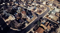 2016: a village situated on the seashore is seen from an aircraft COLORADO Stock Footage