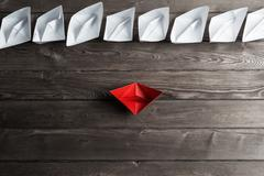 Business leadership concept Stock Photos