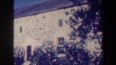 1967: side view of the building,phenomenal look HAWAII Stock Footage