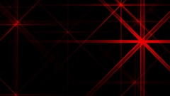 Red Night Abstract Lights Flashes Rays Stars VJ Motion Background Loop Stock Footage