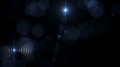4K Abstract Motion Background With Lens Flares Stock Footage