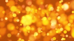 Broadcast Light Bokeh, Golden, Events, Loopable, 4K Stock Footage