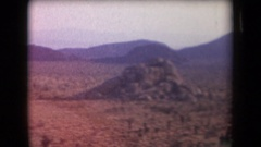 1958: yes this area is so empty but at the same time it is so beautiful ARIZONA Stock Footage