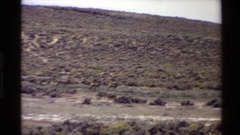 1980: follow me, i know where i am going. WESTERN USA Stock Footage