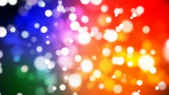 Broadcast Light Bokeh, Multi Color, Events, Loopable, 4K Stock Footage