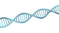 DNA symbol of medecine background Stock Footage