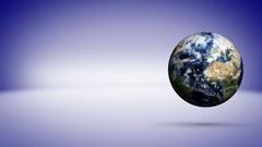 Earth Background, Rendering Animation, Loop, 4k Stock Footage