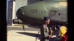 1981: air force pilots and crew describe their a-10 thunderbolt ii ground attack Stock Footage