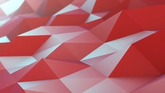 Abstract Polygons Waves Perfect Background Stock Footage