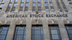 Old American Stock Exchange Building Stock Video Stock Footage