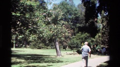 1980: out for an afternoon stroll. BIG SUR CALIFORNIA Stock Footage