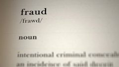 Fraud Definition Stock Footage