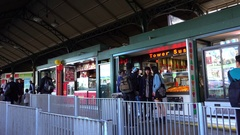 Melbourne, Flinders Station, Food Stores Stock Footage
