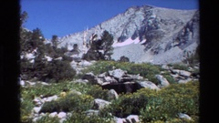 1981: beautiful mountain scenery footage BRITISH COLUMBIA Arkistovideo