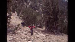 1981: trip to a tall mountain BRITISH COLUMBIA Arkistovideo
