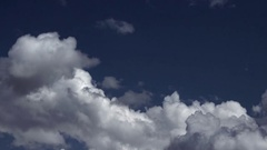 Storm clouds tighten the sky from all sides - Timelapse Stock Footage