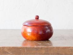 Asian antique wooden container Stock Photos