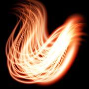 Special light flare effect Stock Illustration