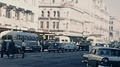Auckland 1965: traffic in the street HD Footage