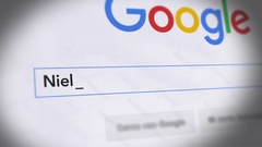 Google Search Engine - Search For Niels Bohr Stock Footage