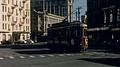 Wellington 1965: tram downtown HD Footage