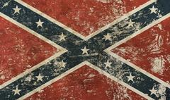 Old grunge American US confederate flag Piirros