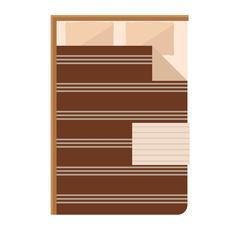Sleeping bed vector Stock Illustration