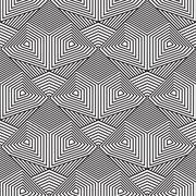 Abstract seamless pattern. Modern stylish texturegeometric backg Stock Illustration