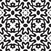 Abstract geometric symmetry modern fashion seamless pattern Stock Illustration