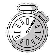 Chronometer time device Stock Illustration