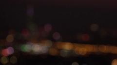 Skyline night of Taipei City with skyscrapers and Taipei 101, 4K Stock Footage