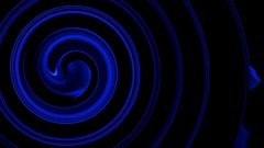 Amazing circle and wave background. The range of color change. Stock Footage
