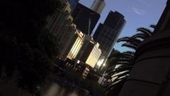 Melbourne Skyline, Southbank Stock Footage