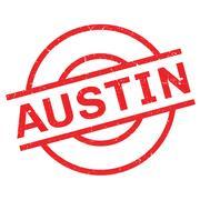 Austin rubber stamp Piirros