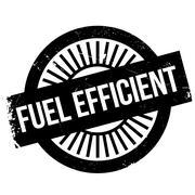 Fuel efficient stamp Stock Illustration