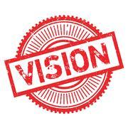 Vision stamp Stock Illustration