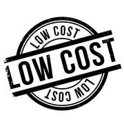 Low cost stamp Stock Illustration