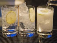 Barkeeper prepares Cocktails Stock Footage