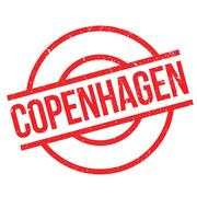Copenhagen rubber stamp Stock Illustration
