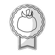Tomato vegetable icon Stock Illustration