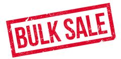 Bulk Sale rubber stamp Stock Illustration