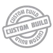 Custom Build rubber stamp Stock Illustration