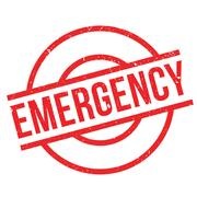Emergency rubber stamp Piirros