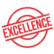 Excellence rubber stamp Stock Illustration