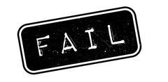 Fail rubber stamp Stock Illustration