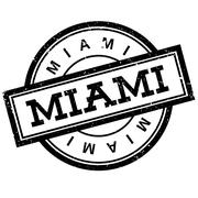Miami rubber stamp Piirros