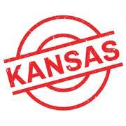 Kansas rubber stamp Piirros